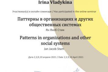 Паттерны в организациях и других общественных системах
